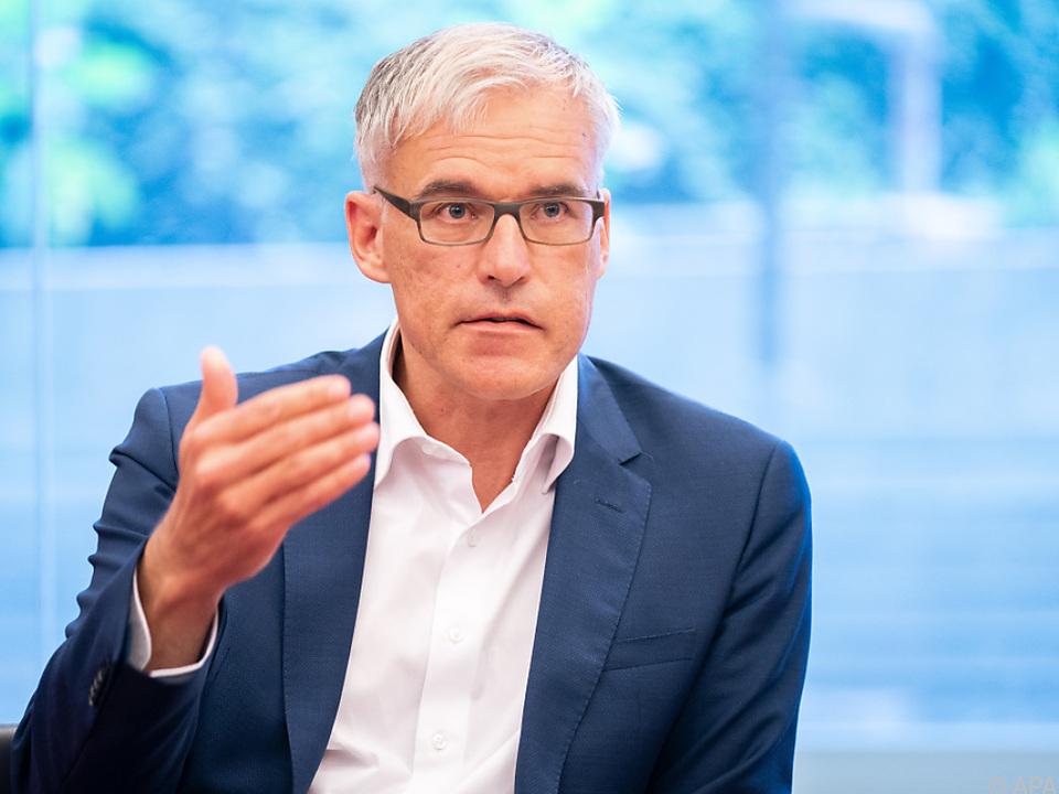 Der neue Stiftungsrat Lothar Lockl wurde von den Grünen entsendet