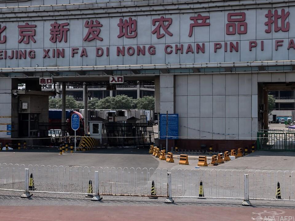 Der neue Virus-Ausbruch begann auf dem Xinfadi-Großmarkt