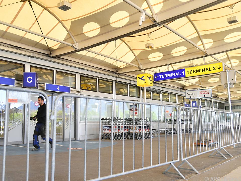 Der Salzburger Flughafen hat wieder offen