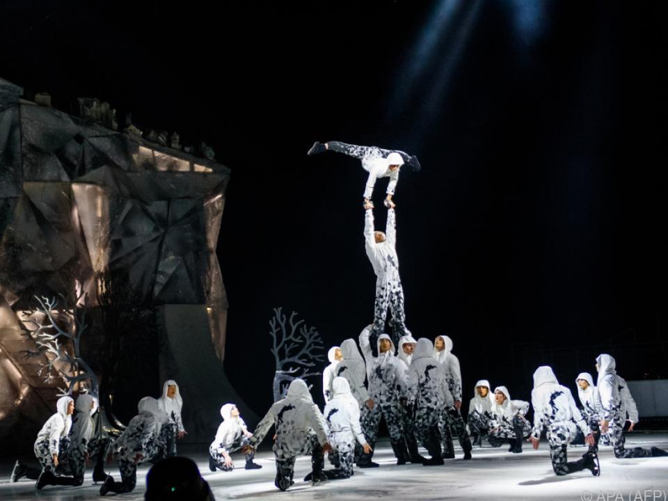 Die Artisten von Cirque du Soleil können nicht arbeiten