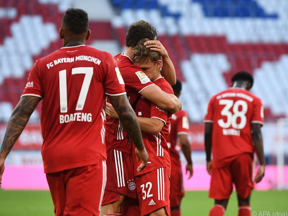 Die Bayern stehen kurz vor dem nächsten Meistertitel
