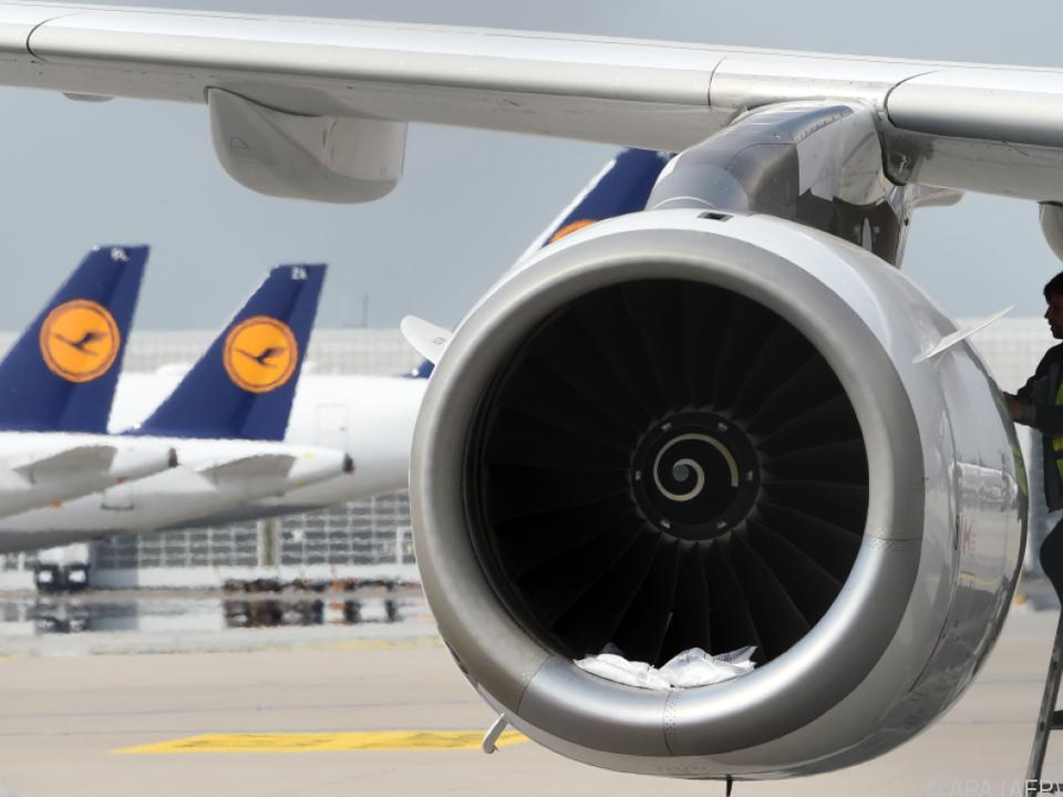 Die deutsche Lufthansa hat enormen Spardruck