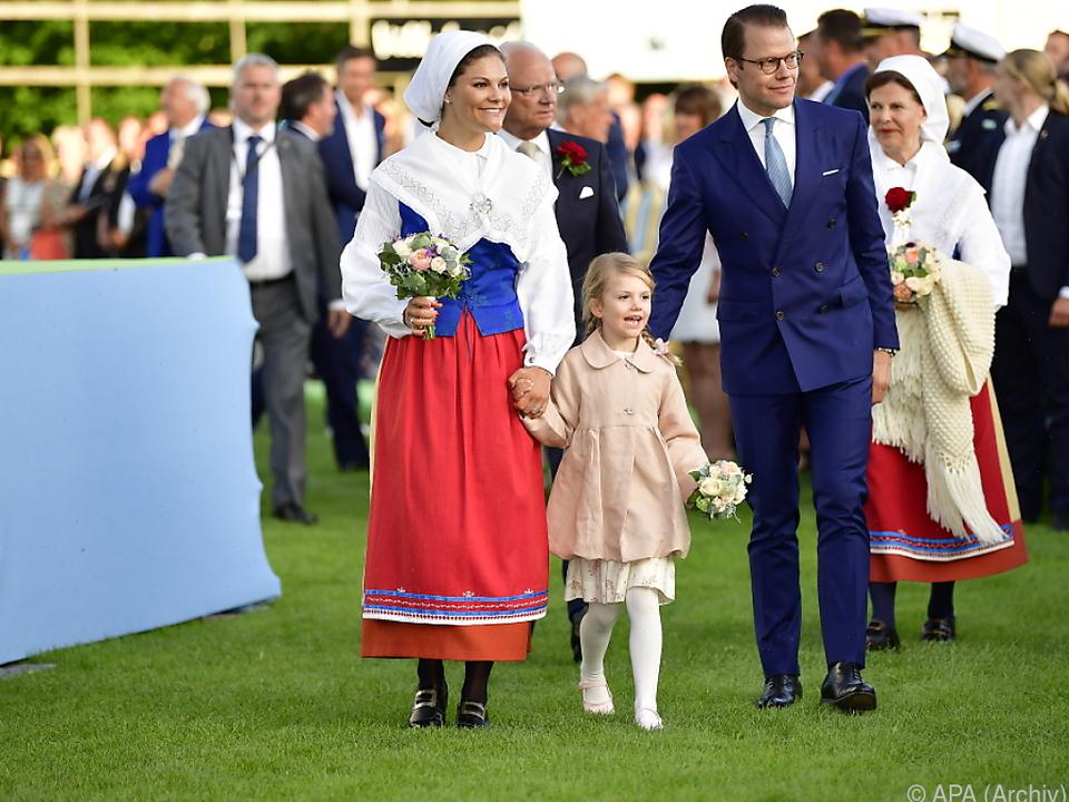 Die Kronprinzessinnenfamilie gilt als royale Musterehe