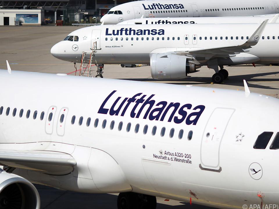 Die Lufthansa ist auf staatliche Hilfe angewiesen