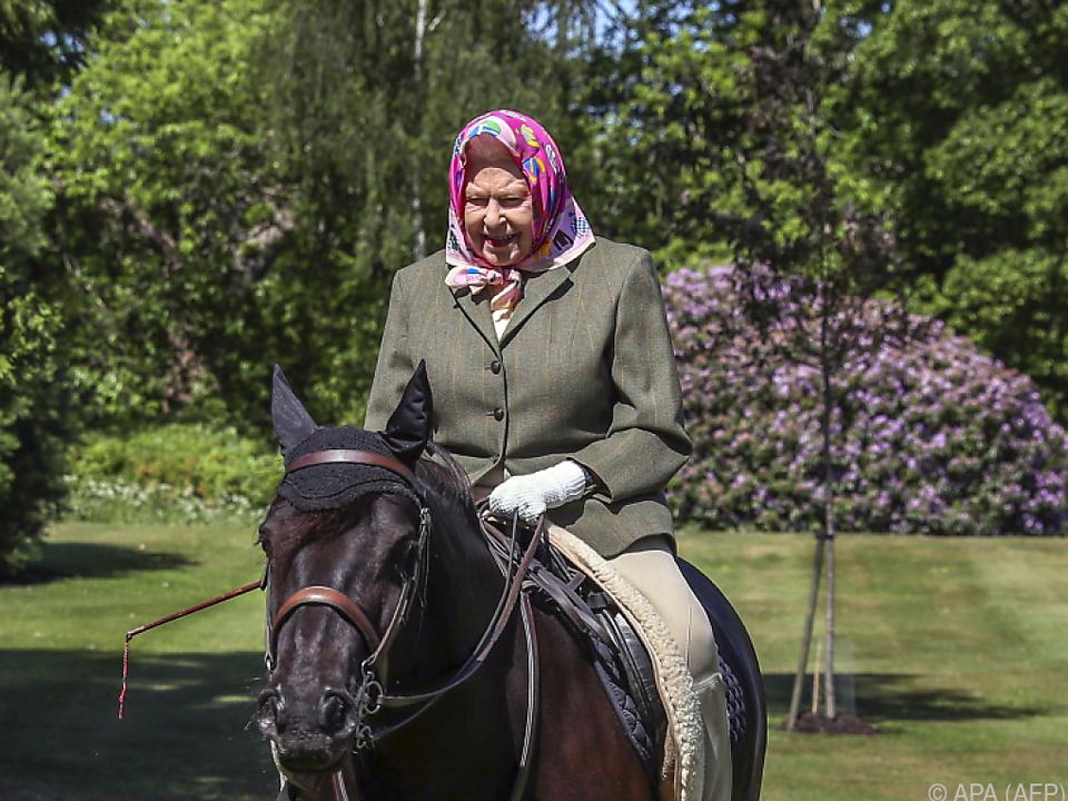 Die Queen und ihr 14-jähriges Pony