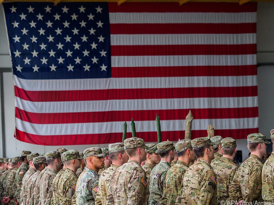 Die USA reduzieren ihre Truppenstärke in Deutschland auf 25.000