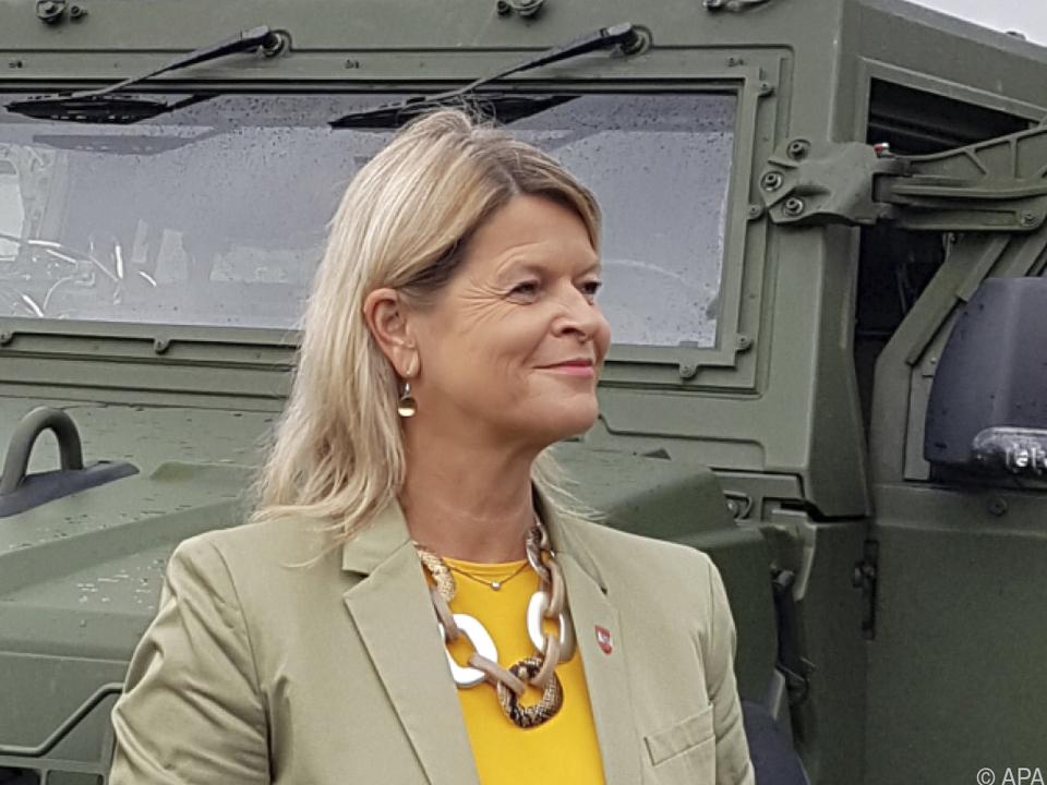 Die Verteidigungsminister ist derzeit stark in der Kritik