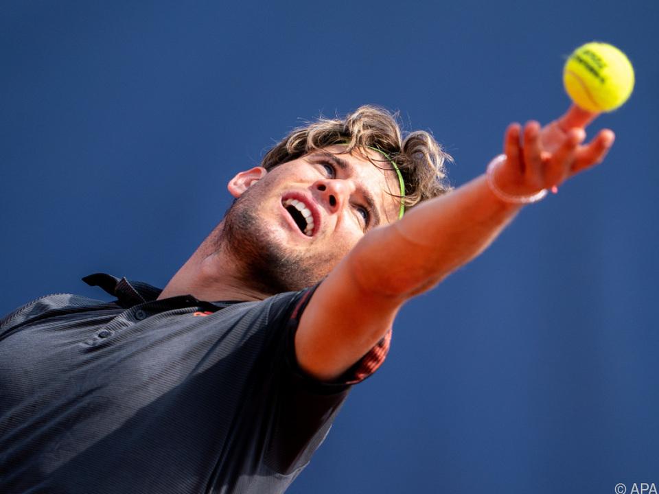 Dominic Thiem mit weiterem Sieg im neuen Tennis-Format