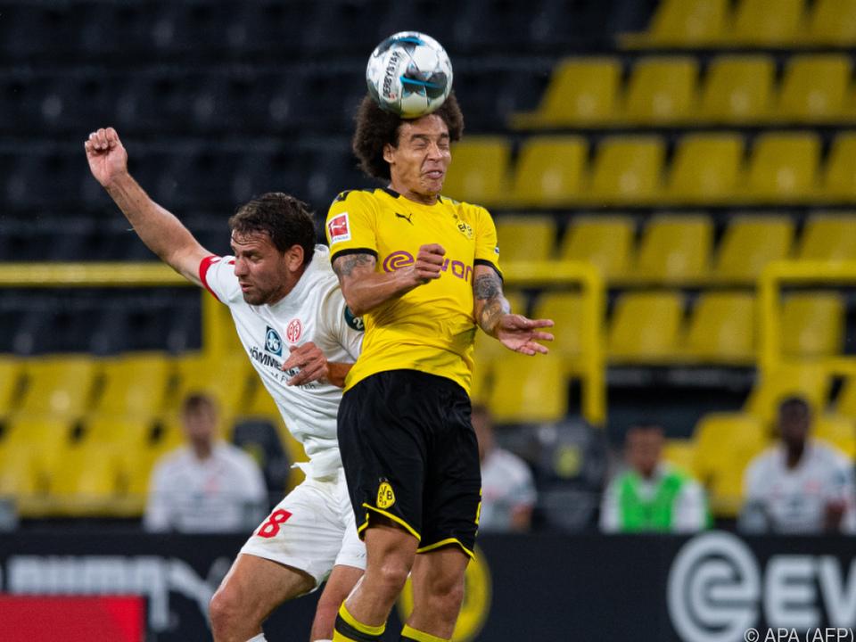 Dortmund patzte gegen Mainz