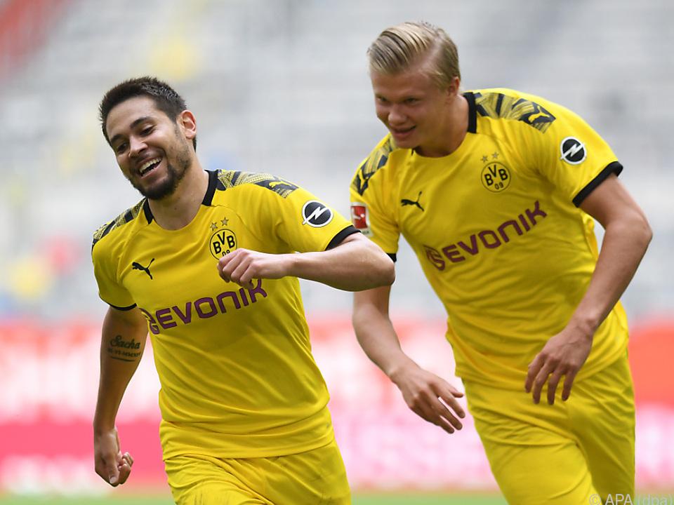 Dortmund-Stürmer Erling Haaland war einmal mehr in Torlaune