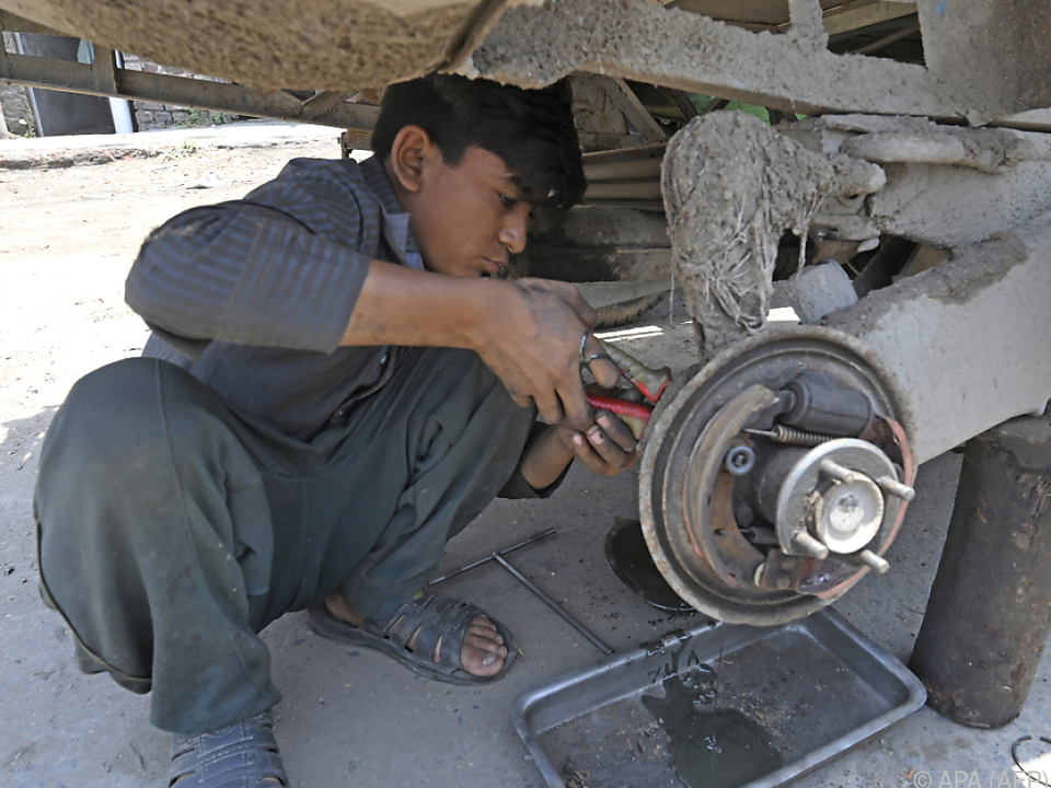 Eigentlich sollte die Kinderarbeit bis 2025 völlig eliminiert werden