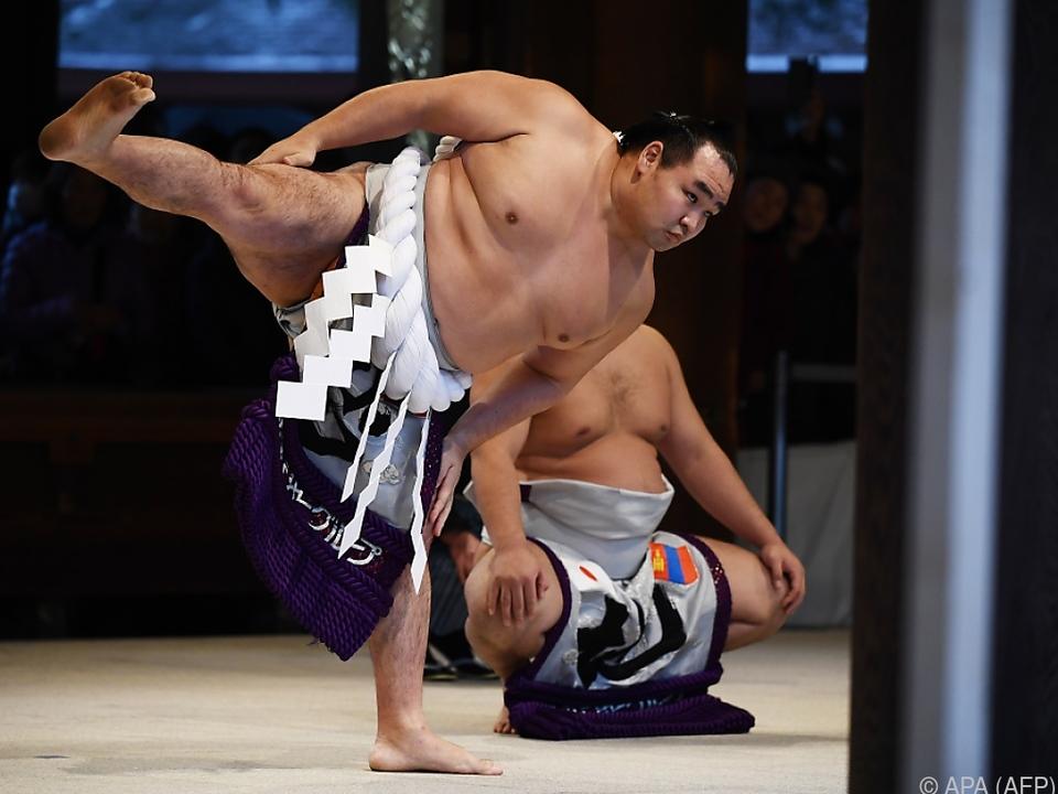 Ein Sumo-Kämpfer hat es nicht \