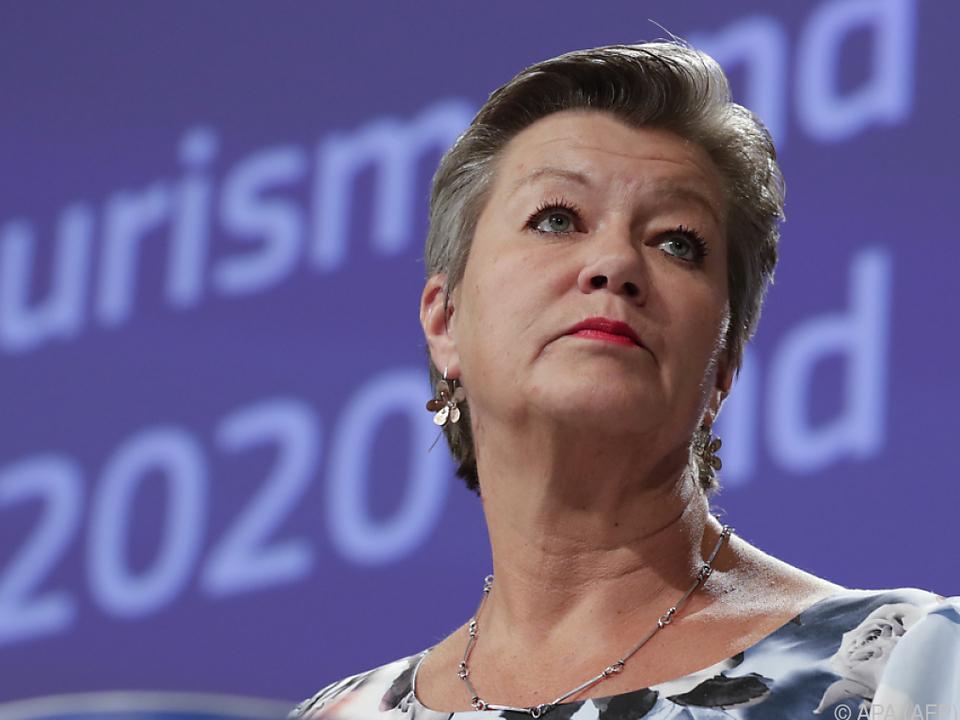 EU-Innenkommissarin Ylva Johansson