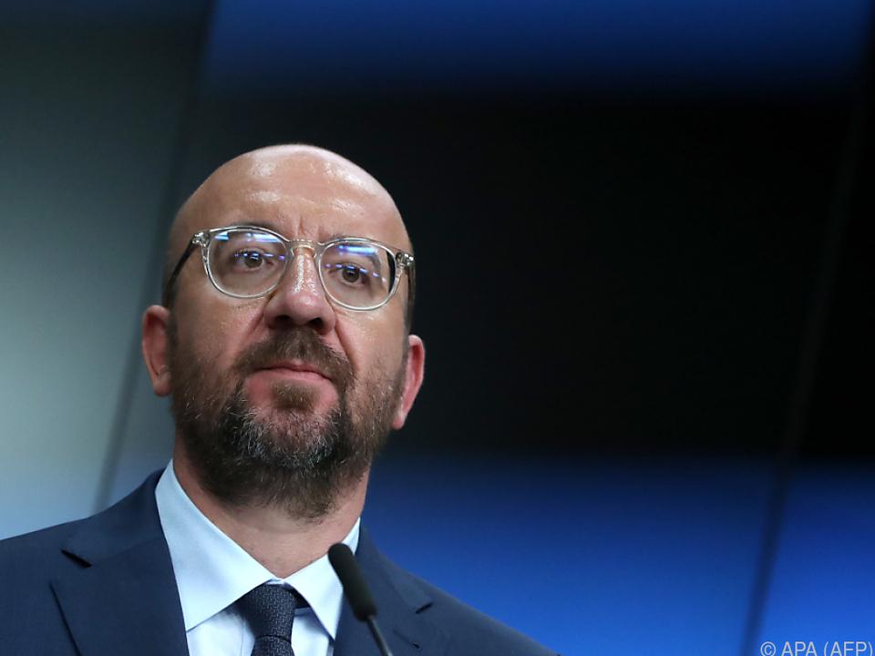EU-Ratspräsident Charles Michel lädt zu Verhandlungen nach Brüssel