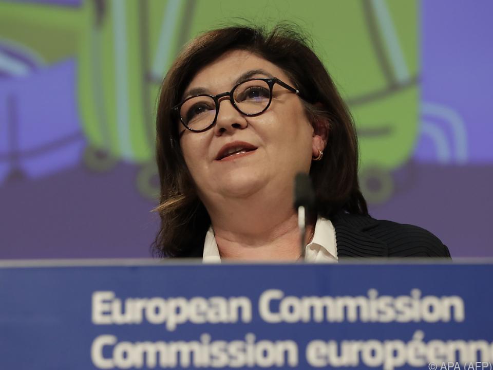 EU-Verkehrskommissarin Adina Valean