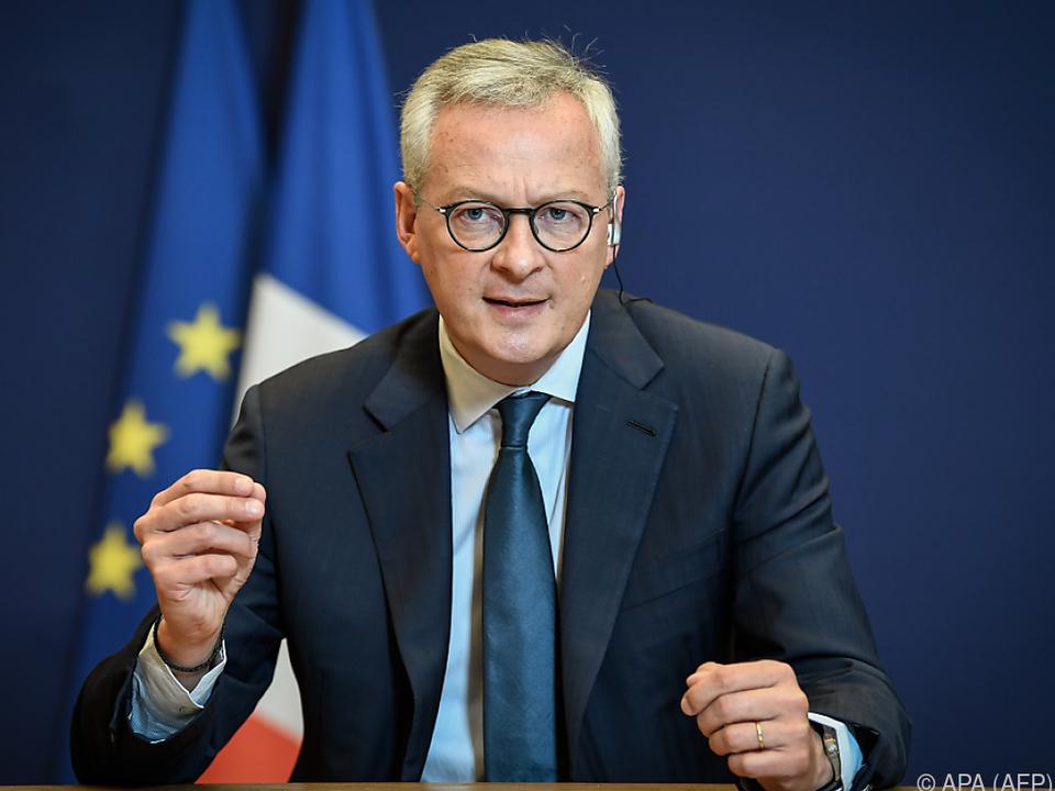 Finanzminister Le Maire kündigte einen deutlichen Einbruch an