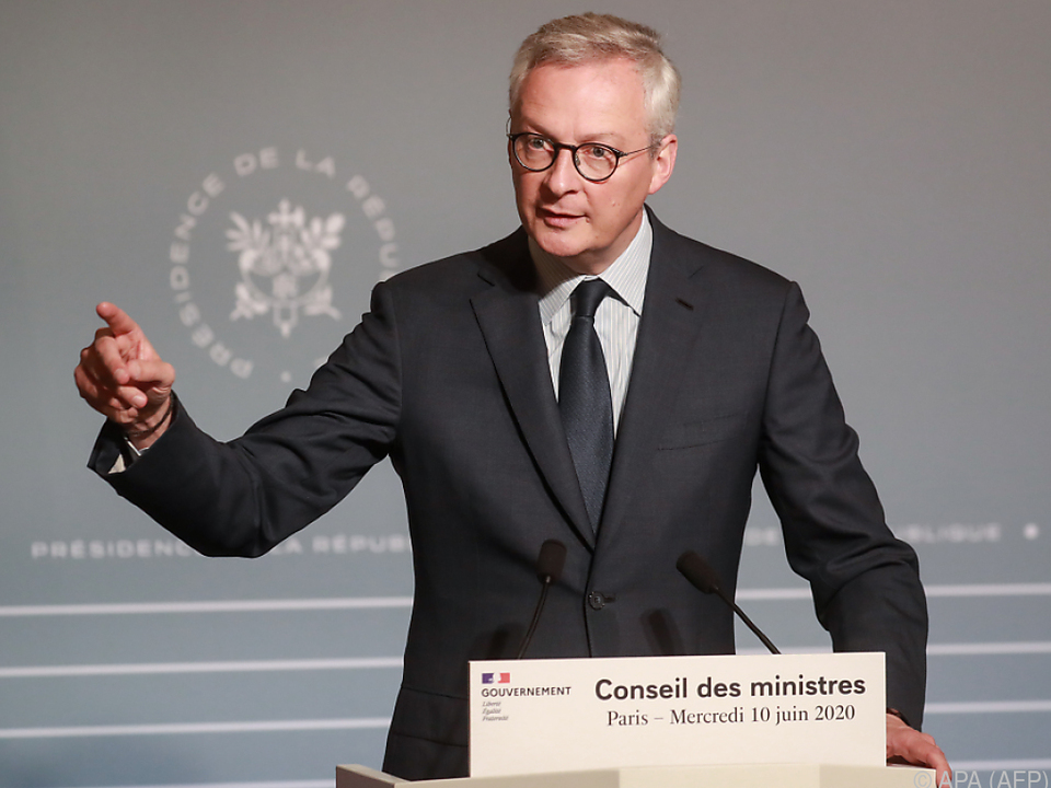 Frankreichs Finanzminister Bruno Le Maire
