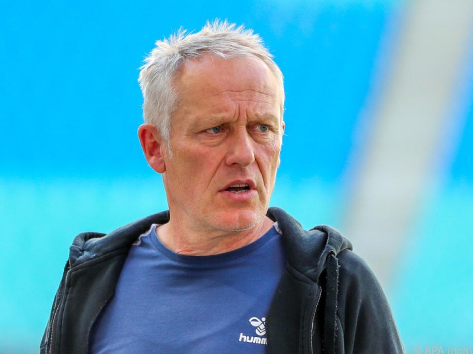 Freiburg-Langzeittrainer Christian Streich