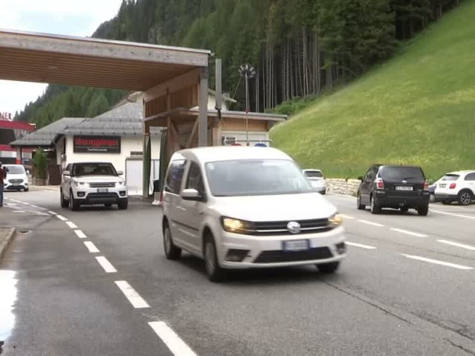 Freude am Brenner - Österreich öffnet die Grenze zu Italien