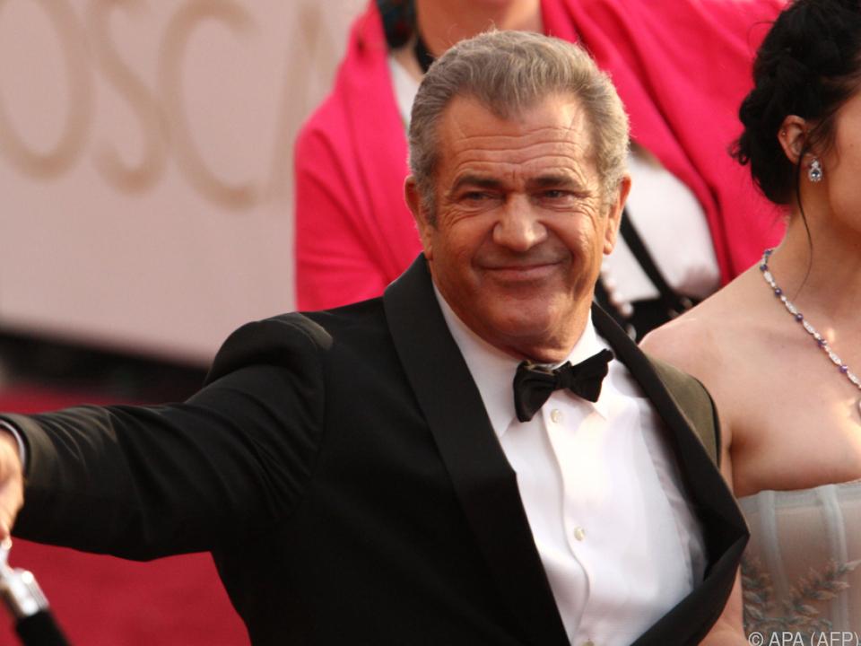 Für frühere Ausfälle machte Mel Gibson Alkoholsucht verantwortlich