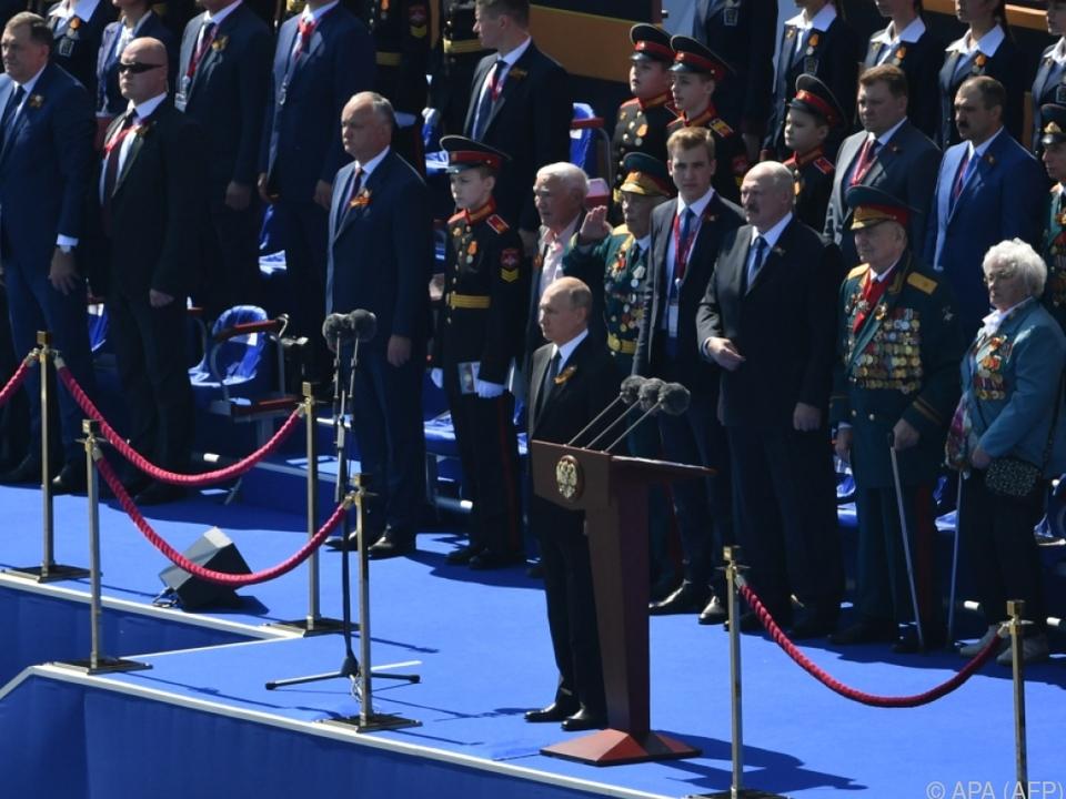 Für Putin hat Russland die meisten Opfer im Zweiten Weltkrieg gebracht