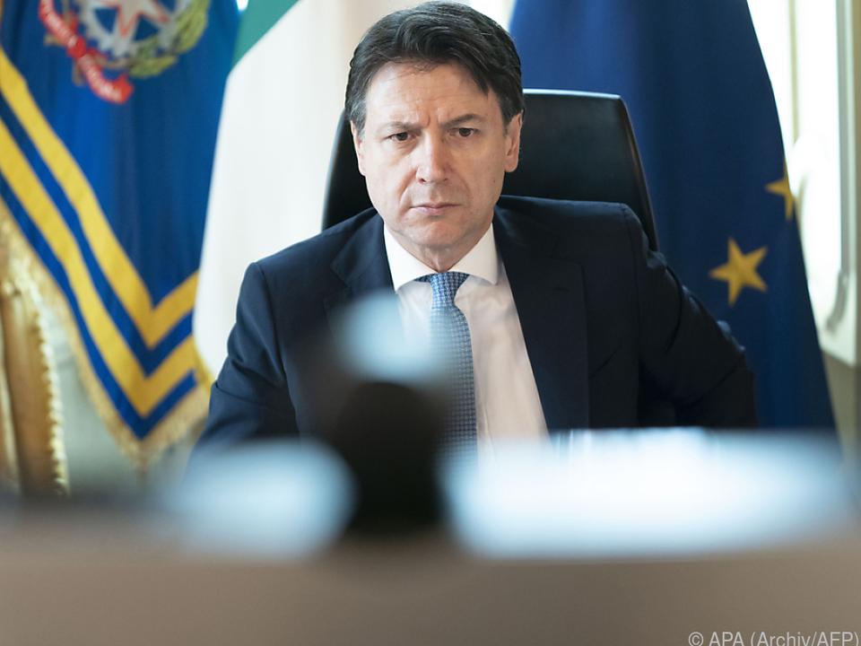 Giuseppe Conte berief \