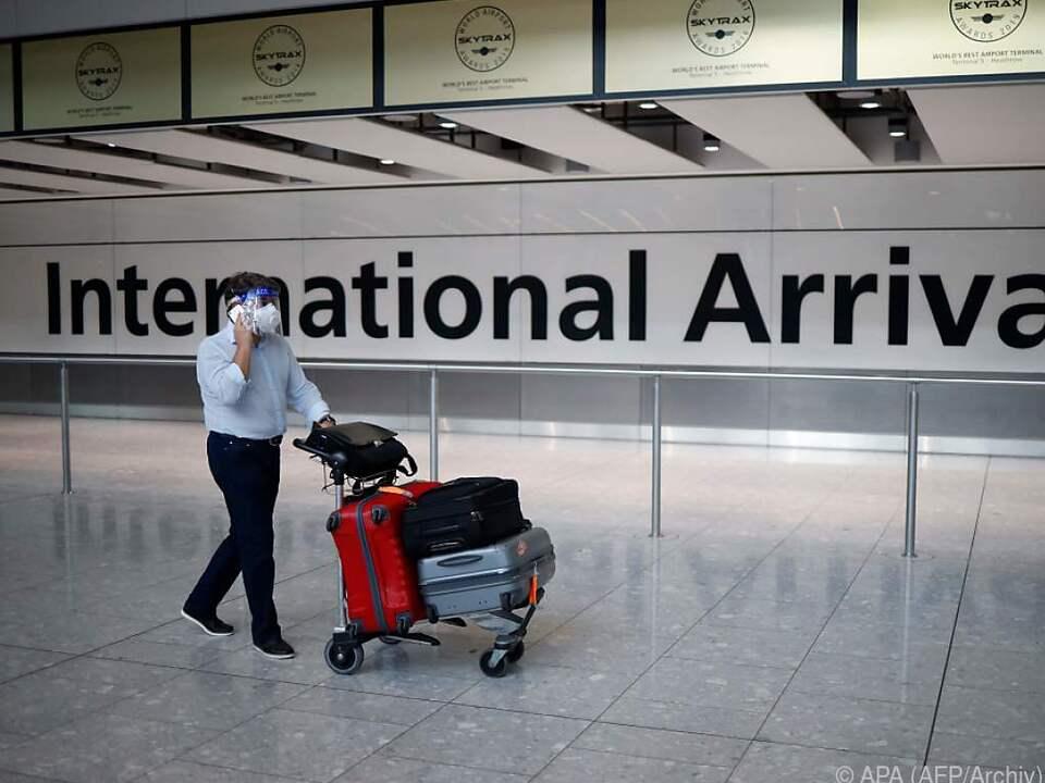 Heathrow Airport: Quarantänepflicht gilt für alle Einreisenden