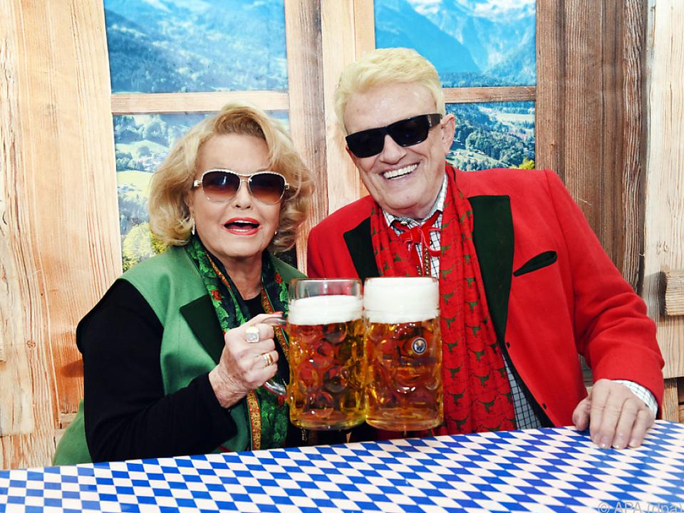 Heino und Hannelore trotzen Corona