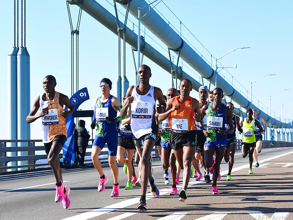 Heuer kein traditioneller Marathon in New York