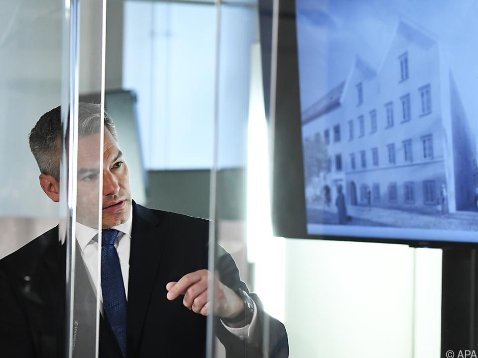 Hitler-Geburtshaus soll durch Polizeistation \