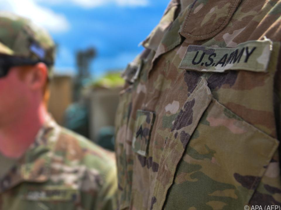 Im Irak sind derzeit noch rund 5.200 US-Soldaten stationiert armee USA sym militär