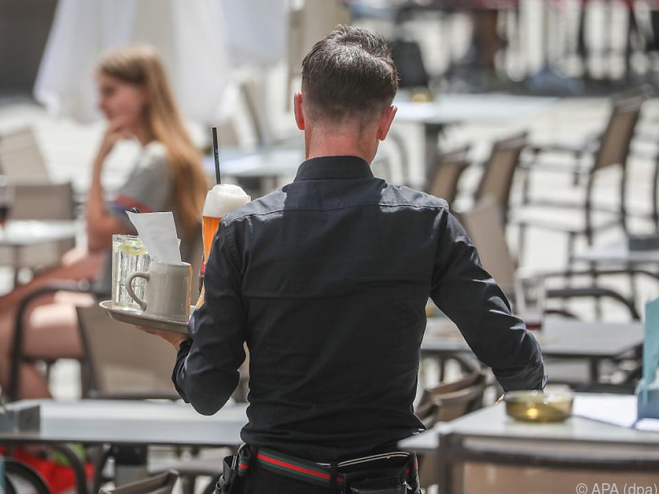 In der Gastronomie ist noch der eine oder ander Job frei