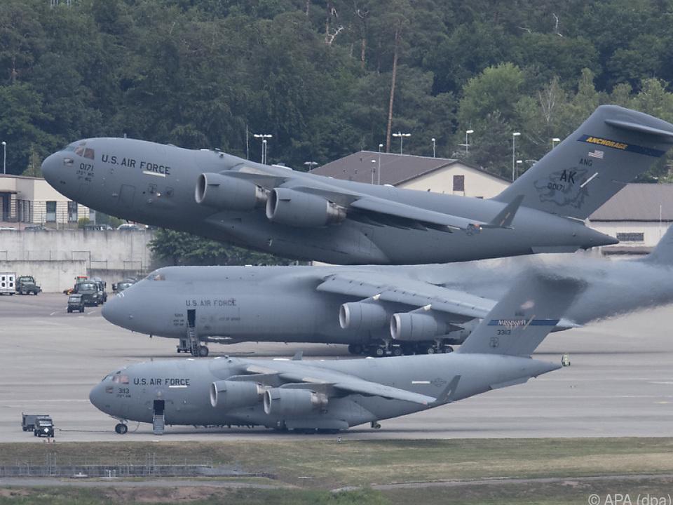 In Ramstein unterhalten die USA einen Luftwaffenstützpunkt