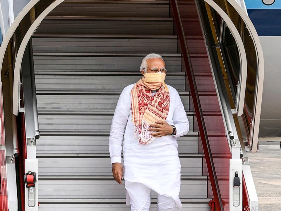 Indiens Premierminister Modi zum G7-Gipfel