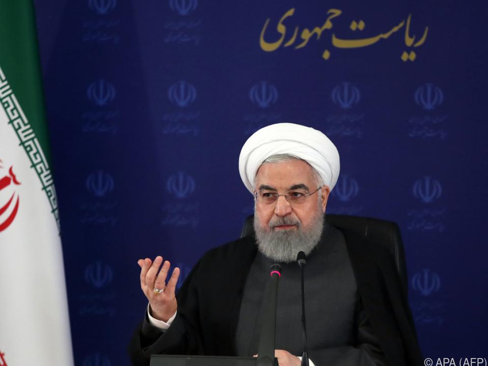 Iranischer Präsident Hassan Ruhani
