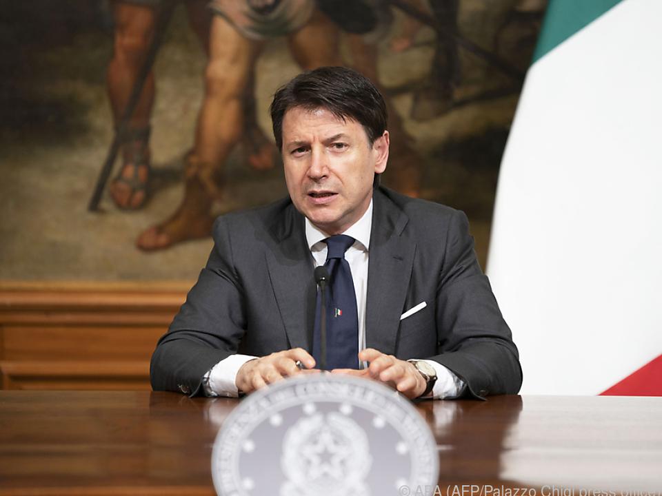 Italienischer Ministerpäsident Conte unter Druck