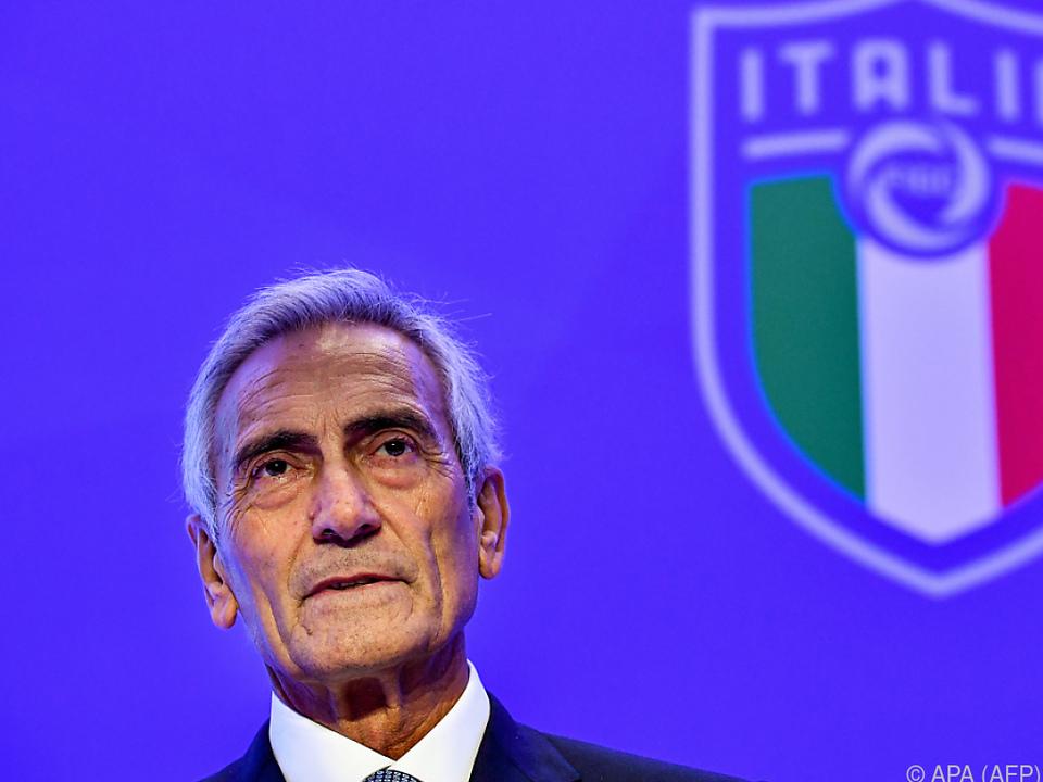 Italiens Liga-Präsident Gabriele Gravina
