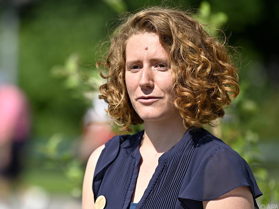 Katharina Rogenhofer, Sprecherin und Koordinatorin Klimavolksbegehren