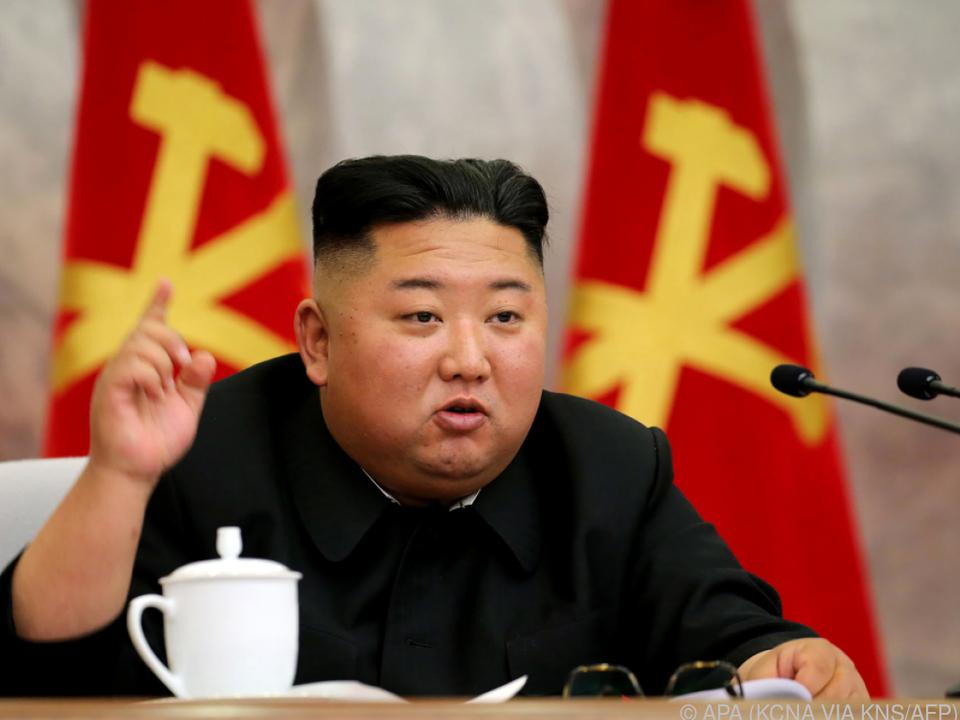 Kim über Aktion südkoreanischer Aktivisten erbost