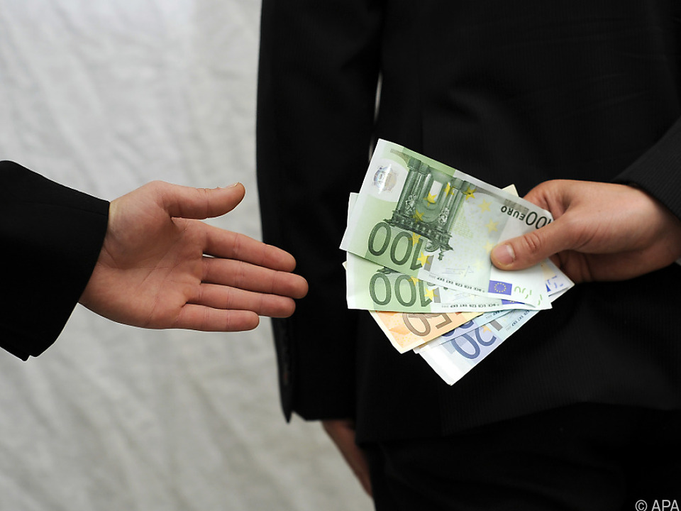 Korruption ist auch in Österreich ein Thema
