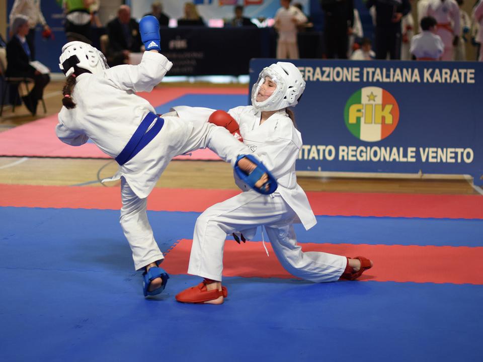 Kumite-Wettkampf