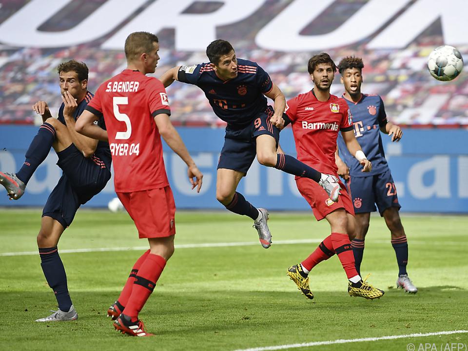 Lewandowski traf zum 30. Mal in der Liga