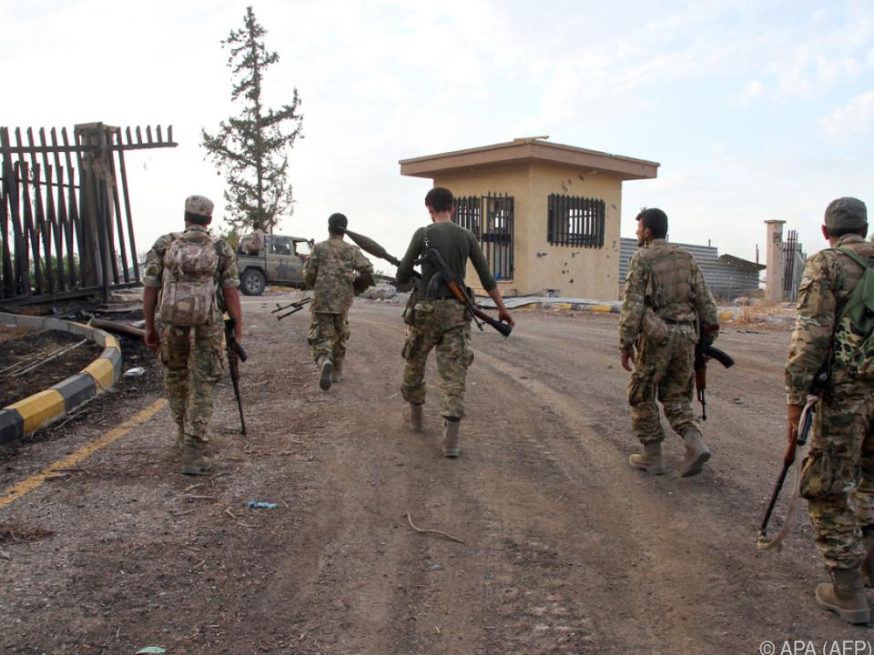 Libysche Regierungstruppen auf dem Vormarsch