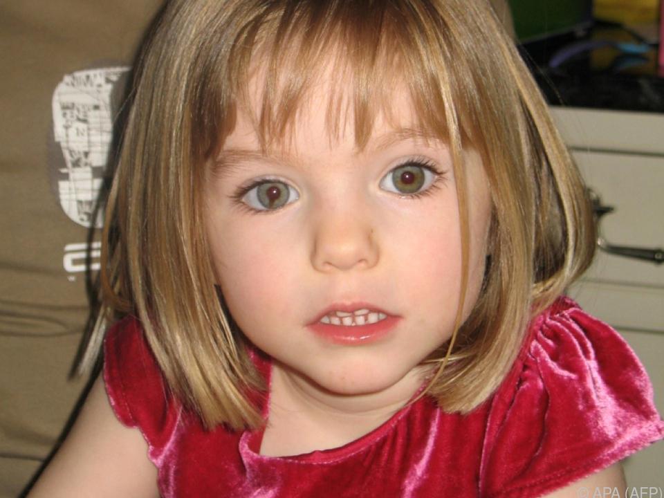 Madeleine McCann verschwand im Mai 2007