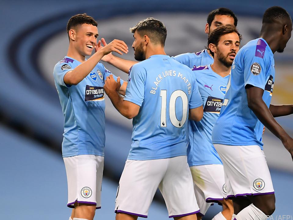 Manchester City feiert souveränen 3:0-Heimsieg