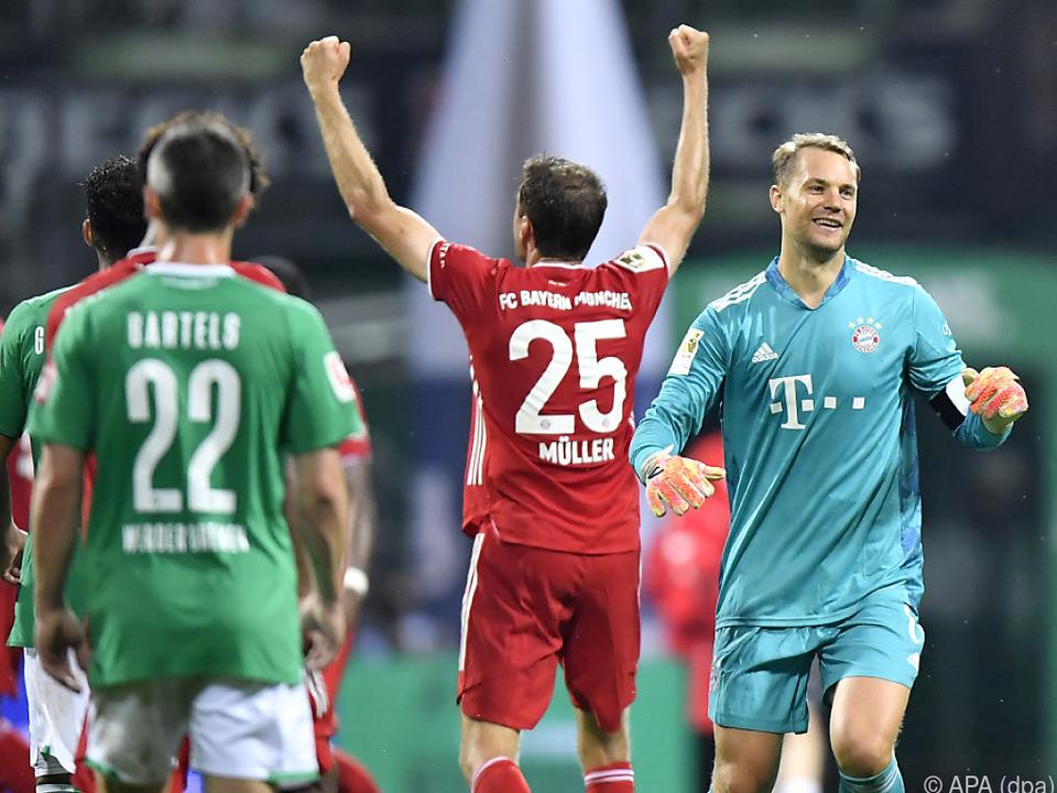 Meistertitel Nummer 8 in Serie für die Bayern