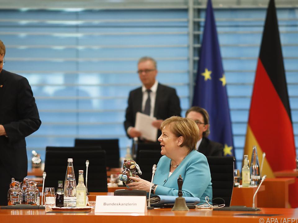 Merkel zeigte sich optimistisch für die Sitzung im Bundesrat