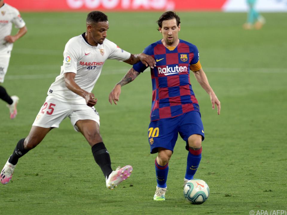 Messi und Co. mühten sich zu einem 0:0