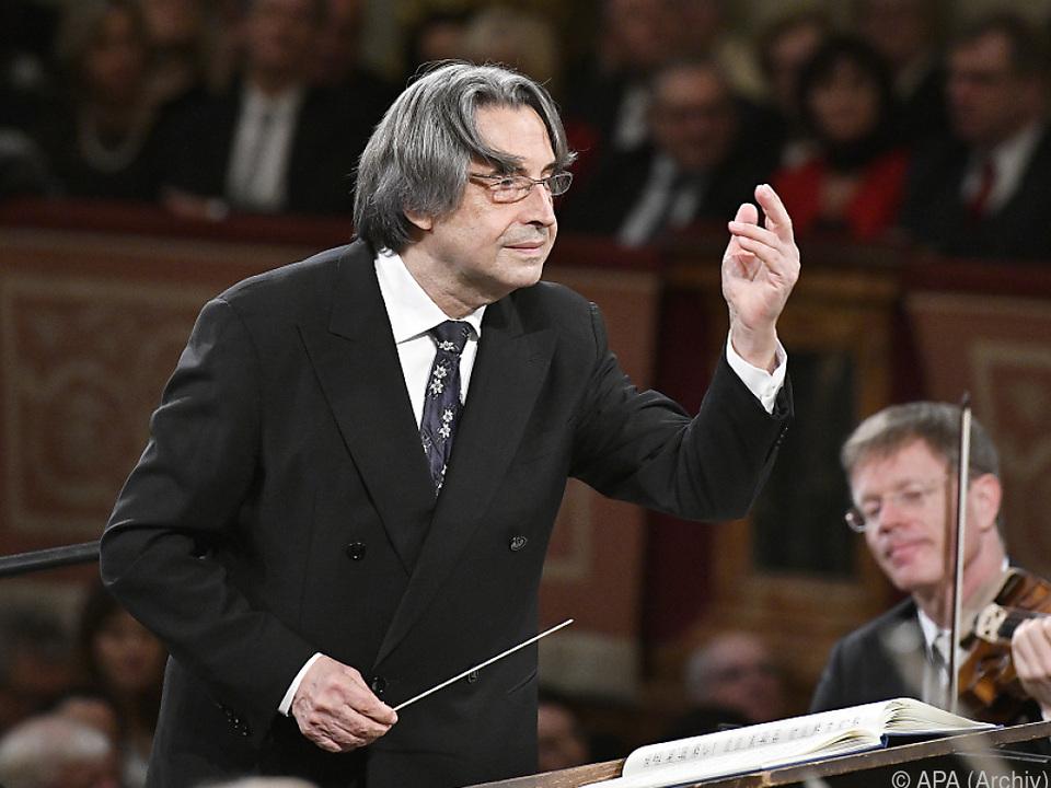 Muti dirigiert sein Jugendorchester \