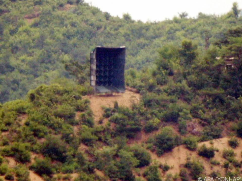 Nordkorea stoppt Militäraktion gegen Südkorea